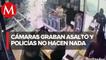 Piden sanción a policías municipales de Oaxaca por dejar en libertad a asaltante