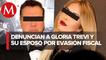 UIF denuncia ante FGR a Gloria Trevi y a su esposo Armando Gómez por evasión fiscal de 400 mdp