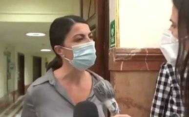 Macarena Olona arrasa en 25 segundos con una periodista de laSexta por su cínica pregunta en el Congreso