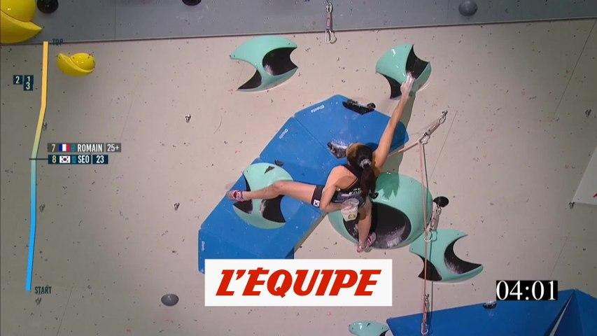 Seo Chae-hyun championne du monde de la difficulté - Escalade - Mondiaux (F)