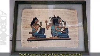 Papiro egiziano originale