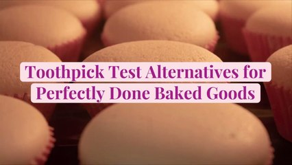 Toothpick Test Alternatives for Perfectly Done Baked Goods