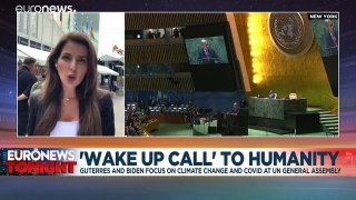 Humanity on the edge of abyss: Guterres and Biden focus on climate change at UN assembly