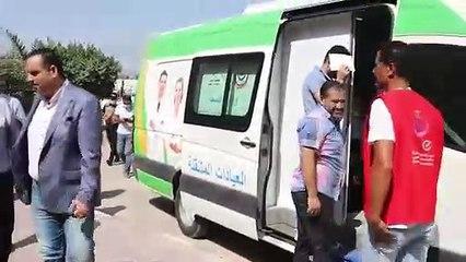 """محافظ كفر الشيخ يتفقد حملة """"معًا نطمئن"""" ويشيد بالأطقم الطبية"""