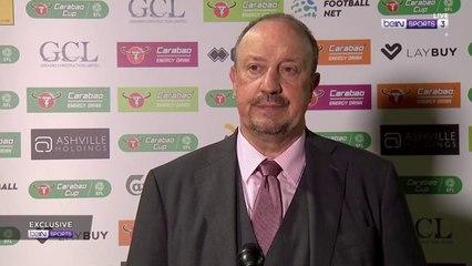 Benitez laments Everton's Carabao Cup exit