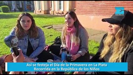 Así se festeja el Día de la Primavera en La Plata Recorrida en la República de los Niños
