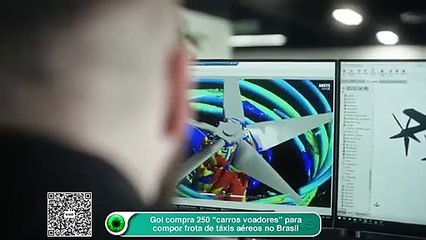 "Gol compra 250 ""carros voadores"" para compor frota de táxis aéreos no Brasil"