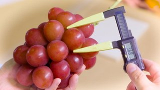 Japanese grapes are some of the most expensive grapes in the world. In 2020, one bunch sold for $12,000.