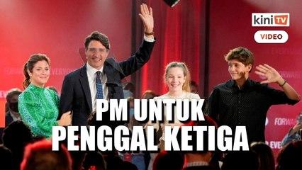 PM Kanada Justin Trudeau dapat mandat bentuk kerajaan minoriti
