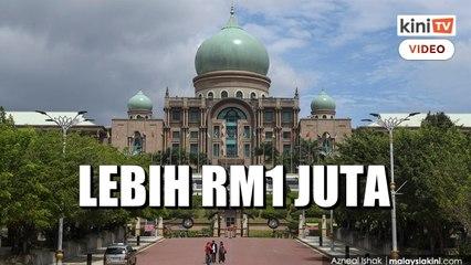 RM1 juta dibelanja untuk ubah suai, beli perabot 4 pejabat di JPM