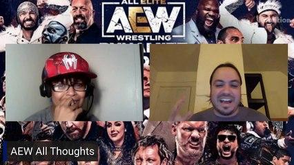AEW Grand Slam Prediction Show! AEW Dynamite & Rampage
