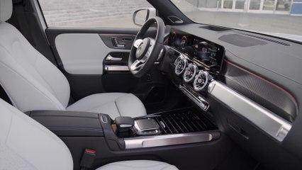 Der Mercedes-Benz EQB - das Interieurdesign