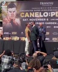 Deux boxeurs en viennent aux mains à la présentation du combat !