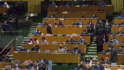 Biden lanza un contundente mensaje a China en su primera Asamblea General de la ONU