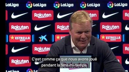 """Koeman : """"Ce n'est plus le Barça d'il y a 8 ans"""""""
