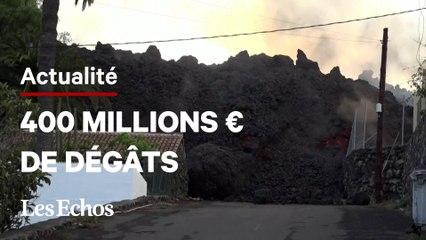 Eruption aux Canaries : les dégâts s'accumulent, des gaz toxiques redoutés