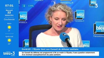 22/09/2021 - Le 6/9 de France Bleu Paris en vidéo