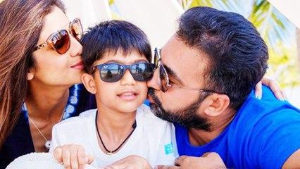 Shilpa Shetty's Son Makes An Instagram Post As Raj Kundra Returns Home