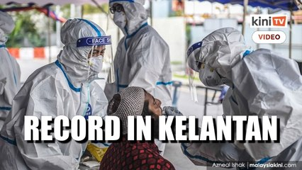 Covid-19: New record in Kelantan, vaccination rate among lowest