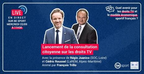 Conférence : lancement de la consultation citoyenne sur les droits TV