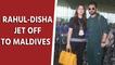 Rahul Vaidya and Disha Parmar jet off to Maldives to celebrate Rahul Vaidya's birthday