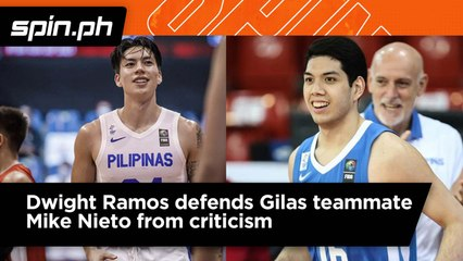 Dwight Ramos defends Mike Nieto from criticism