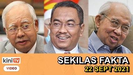 Bukit Aman siasat laporan Najib, Saya ada simpan slip bank, Ku Li letak jawatan   SEKILAS FAKTA