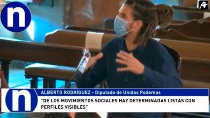 El 'rastas' de Podemos en el Supremo por patear a un policía: 'Todo es un montaje'