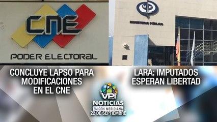 Noticias VPItv Emisión Meridiana - Miercoles 22 de Septiembre