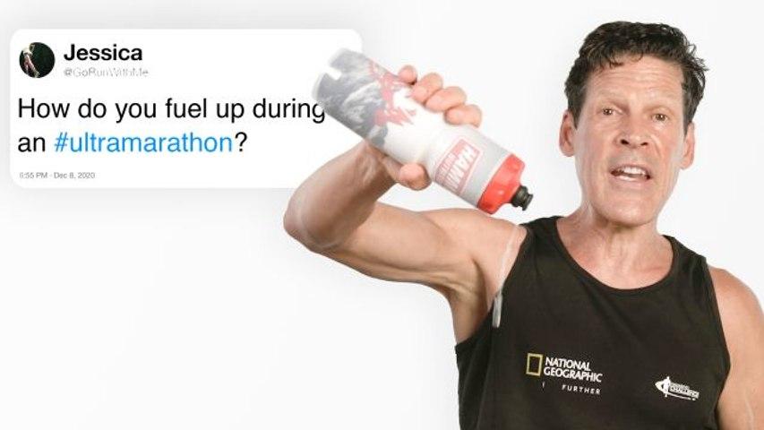 Ultramarathoner Answers Questions From Twitter