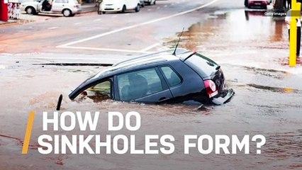 Ever Wonder How Sinkholes Are Formed?