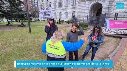 Renovado reclamo de vecinos de El Rincón por tierras cedidas a la Iglesia
