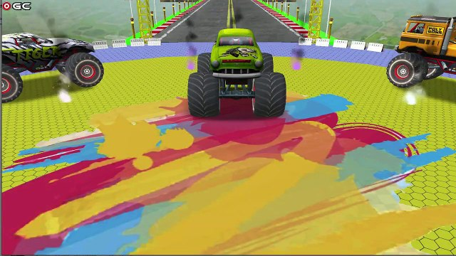 Monster Truck Impossible Tracks Stunts / Extreme 4x4 Truck Race / Android GamePlay