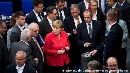 Deutscher Bundestag - Frauen in der Minderheit