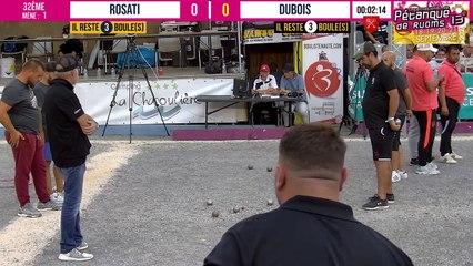 32ème ROSATI vs DUBOIS : International à pétanque de RUOMS - 18 & 19 septembre 2021