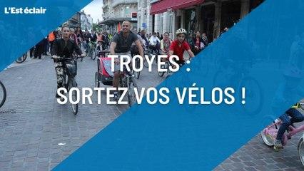 Les randos vélo sont de retour à Troyes