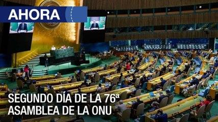 Segundo día de debate de la Asamblea General de la ONU - #22Jun - Ahora