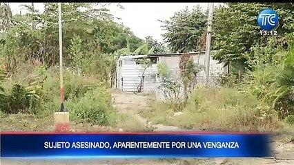 Asesinato quedó registrado en un video de una  cámara de videovigilancia