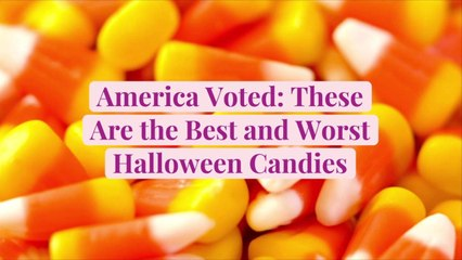 America Voted: These Are the Best and Worst Halloween Candies