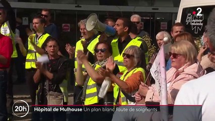 Covid-19 : par manque d'effectif, l'hôpital de Mulhouse a déclenché un plan blanc