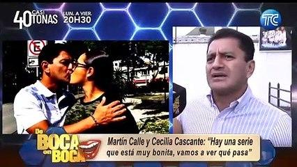 Martín Calle y Cecilia Cascante regresan a la televisión: ¿Estarán en una serie juntos?