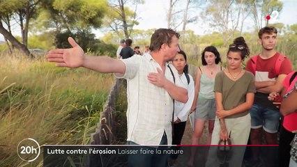 Environnement : lutter contre l'érosion pour protéger les salins sur la Côte d'Azur