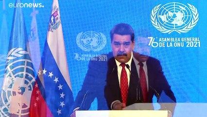 """Nicolás Maduro acusa a EE UU y a la UE de """"conspirar"""" contra Venezuela"""