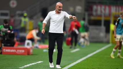 """Pioli: """"Clear-minded and determined in a serious match"""""""