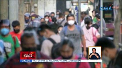 Face shield, hindi na required maliban na lang sa mga lugar na sarado at siksikan | UB