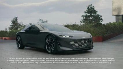 Die Zukunft ist jetzt - der Audi grandsphere concept