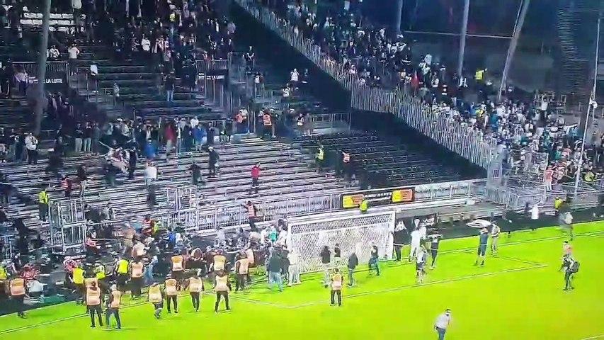 Angers - Marseille : encore une bagarre entre supporters !