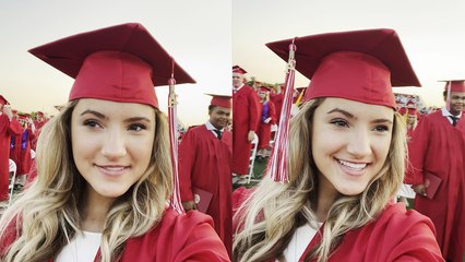''That's Embarrassing' Graduating senior celebrates TOO EARLY'