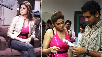 Shamita Shetty Shoots A Promotional Song For Film Hari Puttar (2008)   Flashback Video