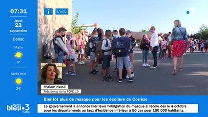 23/09/2021 - Le 6/9 de France Bleu Limousin en vidéo